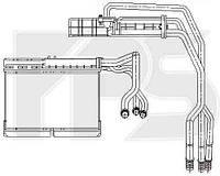 Радиатор печки автомобиля BMW 5 (E34) 88-97/7 (E32) 87-94