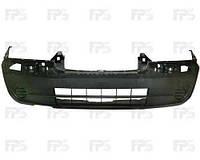 Бампер передний (+абсорбер) +/- отверстия под п/тум (заглушки) для Fiat Scudo 2003-06