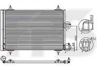 Радиатор кондиционера CITROEN BERLINGO 02-07, PEUGEOT PARTNER 02-07