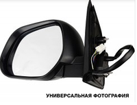 Зеркало левое электро с обогревом 5pin с указателем поворота с подсветкой Jazz 2005-08