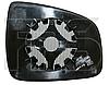 Вкладыш зеркала левый с обогревом Sandero 2013-
