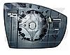 Вкладиш дзеркала правий з обігрівом C-Max 2010-15