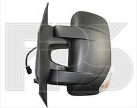 Зеркало правое электро с обогревом 9pin с указателем поворота без подсветки с датчиком температуры Movano 2010