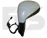 Зеркало левое электро с обогревом грунт без указателя поворота 308 2011-13