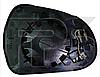 Вкладиш дзеркала правий з обігрівом 308 2011-13