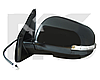 Зеркало правое электро с обогревом грунт 7pin с указателем поворота без подсветки ASX 2010-13