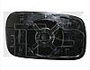 Вкладыш зеркала лев. с обогр. плоск. Volkswagen Caddy 1995-04
