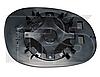 Вкладыш зеркала правый с обогревом 206 -06
