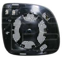 Вкладиш дзеркала лівий з обігрівом Q7 05-09 2005-14
