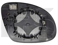 Вкладыш зеркала лев. с обогр. асферич. Volkswagen Tiguan 2007-11