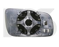 Вкладыш зеркала левый с обогревом хром A8 1998-02