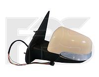 Дзеркало ліве електро без обігріву глянець 5pin з покажчиком повороту без підсвічування Terios 2006-12