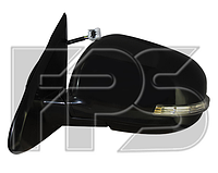Дзеркало ліве електро з обігрівом складається грунт 9pin з покажчиком повороту без підсвічування ASX 2013-