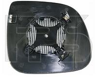 Вкладыш зеркала левый с обогревом SMALL (84mm) Q5 2008-12
