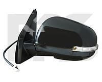 Зеркало правое электро с обогревом грунт 7pin с указателем поворота без подсветки 4007 2008-11