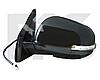 Зеркало левое электро с обогревом грунт 7pin с указателем поворота без подсветки 4007 2008-11