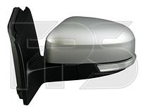 Зеркало правое электро с обогревом грунт асферич 10pin складывающееся с указателем поворота с подсветкой с дат