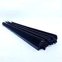 Уплотнение опускного стекла двери наружный ВАЗ 1118-19