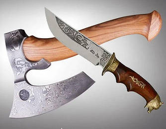 Эксклюзивные охотничьи ножи и топоры