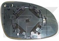 Вкладыш зеркала левый с обогревом JETTA 06-