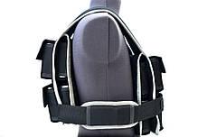 Утяжелительный жилет с регулируемым размером и весом 1-40 кг (Жилет утяжелитель), фото 2