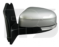 Зеркало левое электро с обогревом грунт асферич 8pin складывающееся с указателем поворота с подсветкой Focus 2