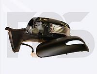 Зеркало лев. эл. с обогр. грунт. асферич. 7 PIN +УК. пов. -подсвет. Toyota Auris 2010-12