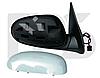 Зеркало левое электро с обогревом грунт асферич Nissan Maxima 2000-06