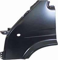 Крыло переднее правое с отверстием под повторитель поворота для Ford Transit 1995-00