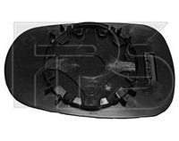 Вкладыш зеркала левый/правый с обогревом асферич Micra K11 1992-02