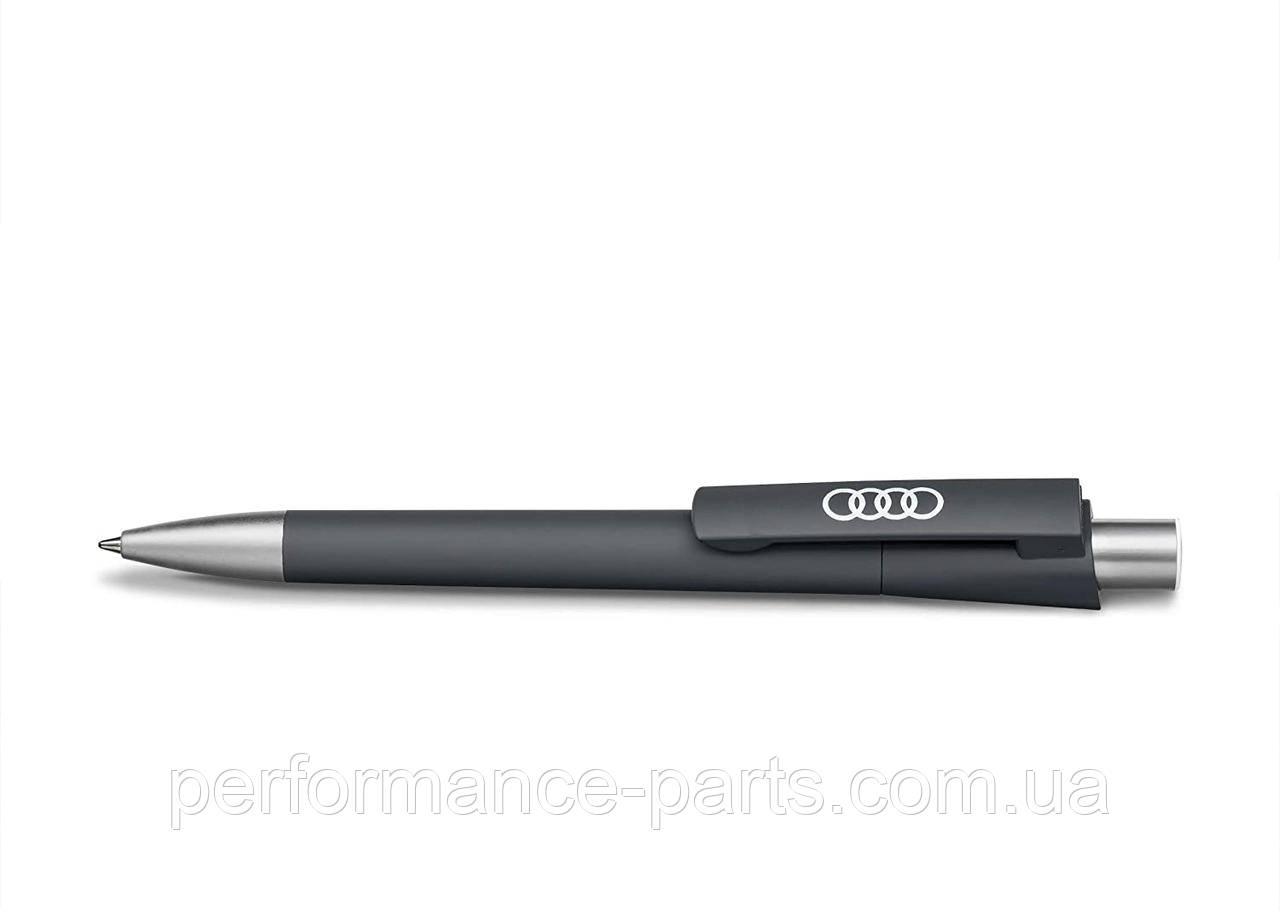 Шариковая ручка Audi Rings Ballpoint Pen, Grey, артикул 3221700200 Официальная коллекция Audi