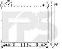 Радиатор охлаждения автомобильный основной SSANGYONG REXTON I 02-06/REXTON I 06-12