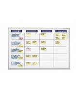 Планировщик Magnetoplan SCRUM-board XL-Set 1800 x 1200 мм