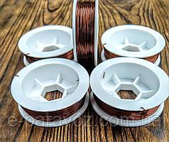 Проволока Алюминий Коричневый 0.4 мм - 10 метров для рукоделия