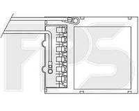 Радіатор пічки автомобіля OPEL ASTRA G 98-09/ZAFIRA 99-05