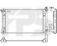 Радиатор охлаждения автомобильный основной TOYOTA AVENSIS 03-06 (КРОМЕ VERSO)/AVENSIS 06-08 (КРОМЕ VERSO)