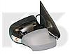 Зеркало левое электро с обогревом грунт с указателем поворота без подсветки с датчиком температуры Logan 2013-