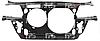 Панель передня пластмас. бензин/дизель 4-х циліндровий для Audi A6 2001-05 SDN/AVANT (C5)