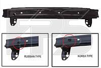 Шина переднього бампера (KOREA TYPE) для Hyundai Accent/Solaris 2011-