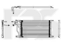 Радіатор кондиціонера FORD TRANSIT 92-95/TRANSIT 95-00