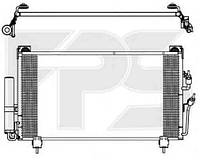 Радиатор кондиционера MITSUBISHI OUTLANDER I 03-09 (КРОМЕ XL)
