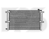 Радіатор кондиціонера SEAT IBIZA 93-99 +CORDOBA+INCA+VARIO 98-/INCA 95-04, VW CADDY 95-04/POLO III 94-01