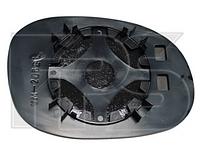 Вкладыш зеркала левый без обогрева C3 2002-09