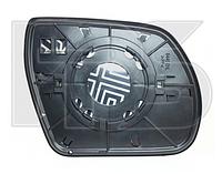 Вкладыш зеркала левый с обогревом Hyundai Santa Fe 2009-12