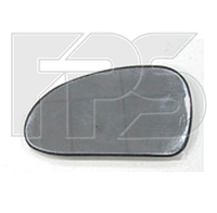 Вкладыш зеркала левый без обогрева Hyundai Sonata 2001-05