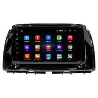 """Штатная автомобильная магнитола Mazda CX-5 (2015 г.в.) экран 9"""" память 1/16 Гб GPS Bluetooth Android"""
