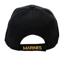Бейсболка Han-Wild U.S.Marines Black тактическая кепка армейская вышитая, фото 2