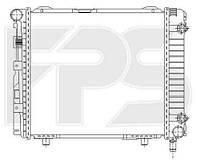 Радиатор охлаждения автомобильный основной MERCEDES 124 84-96 (E-CLASS)/190 82-93 (W201)