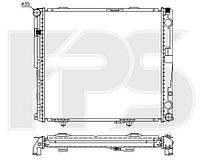 Радиатор охлаждения автомобильный основной MERCEDES 124 84-96 (E-CLASS)