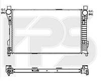 Радіатор охолодження автомобільний основний MERCEDES 203 00-07 (C-CLASS)